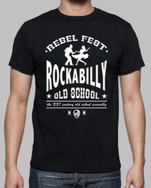 t-shirt rockabilly old school