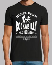 t-shirt rockabilly old school
