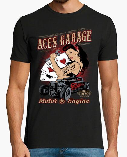 T-shirt rockabilly pinup rockers hotrod