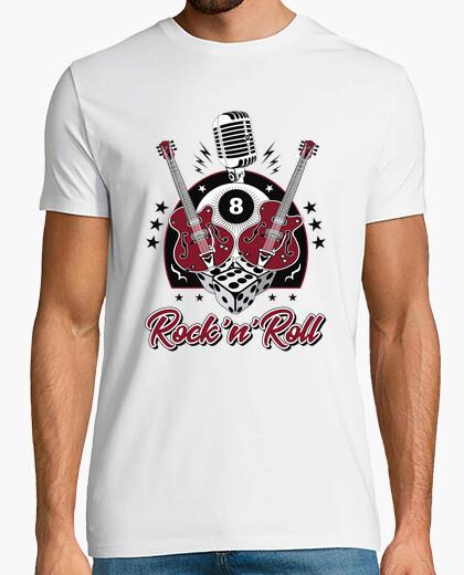 Tee-shirt t-shirt rockabilly rock and roll retro rockers