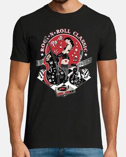 t-shirt rockabilly sexy ragazza pin up rock and roll anni '50 anni '60 anni '70 rocker d