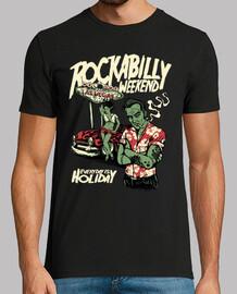 t-shirt rocker rockabilly vintage pinup