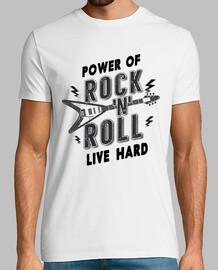 t-shirt Rocker vintage retro rock