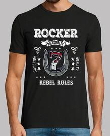 t-shirt rocker vintage vintage