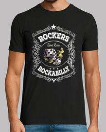 t-shirt rockers rockabilly forever