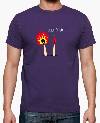 T-shirt saiyan