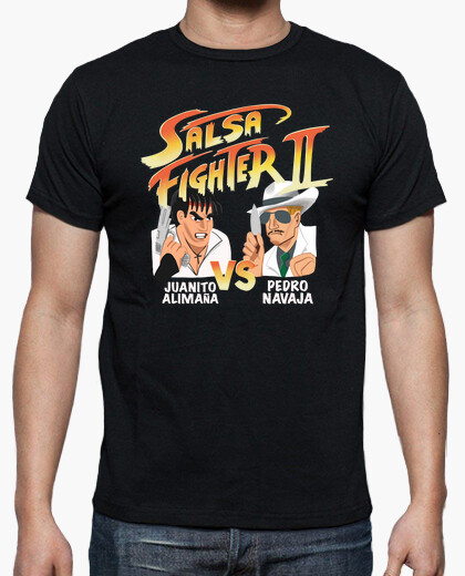 T-shirt salsa di fight er