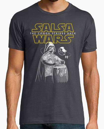 T-shirt Salsa di wars  la conga colpisce di bac