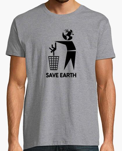 T-shirt salvare la terra