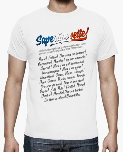 T-shirt saperlipopette