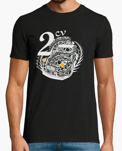 T-shirt savoy milky 2cv tatoo