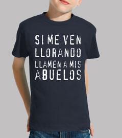 t-shirt se mi vedete piangere