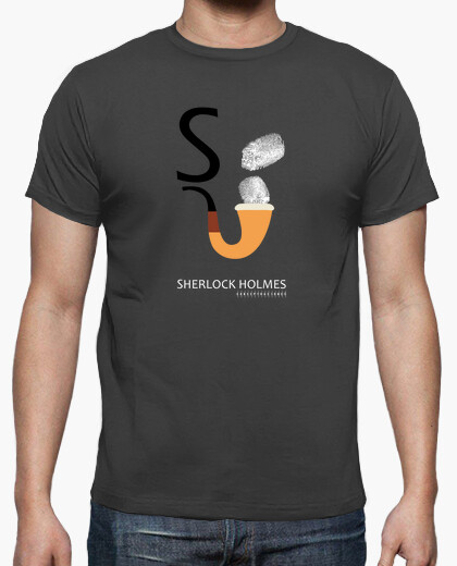T-shirt sherlock holmes