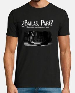 t-shirt si balla papà uomo