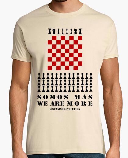 T-shirt siamo più formaggi spanis...