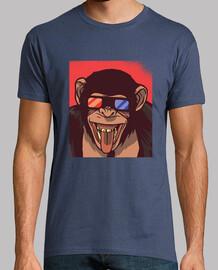t-shirt singe lunettes 3d