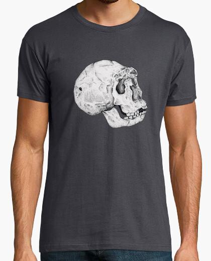 T-shirt skull homo ergaster