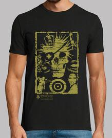 t-shirt skull punk