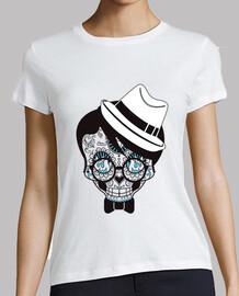 t-shirt skull sugar messicano