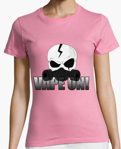 T-shirt skull vape su!