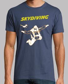 t-shirt skydiving mod.1