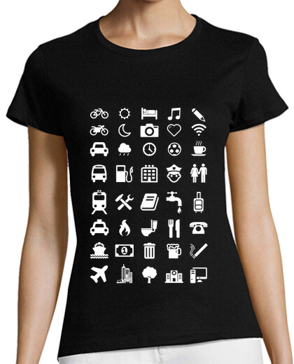 Visualizza T-shirt donna geek