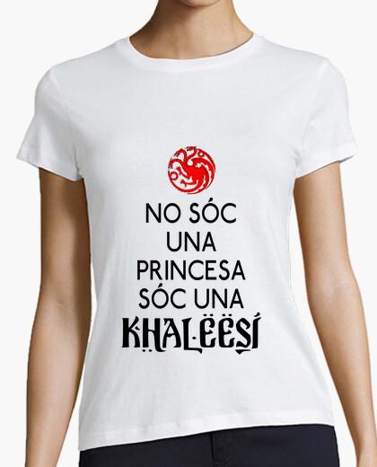 T-shirt soc no una principessa