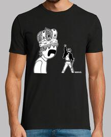 t-shirt sombre reine de cyprès