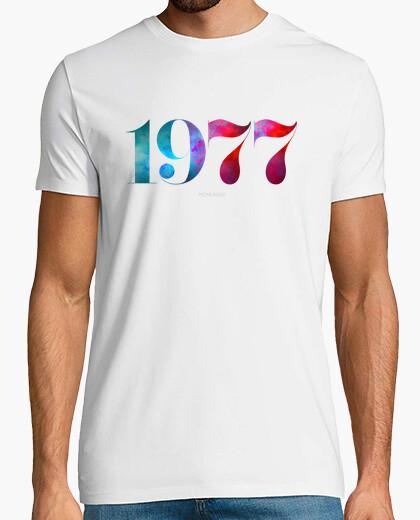 T-shirt sono nato nel 1977