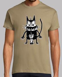 t-shirt souris et souris effrayant