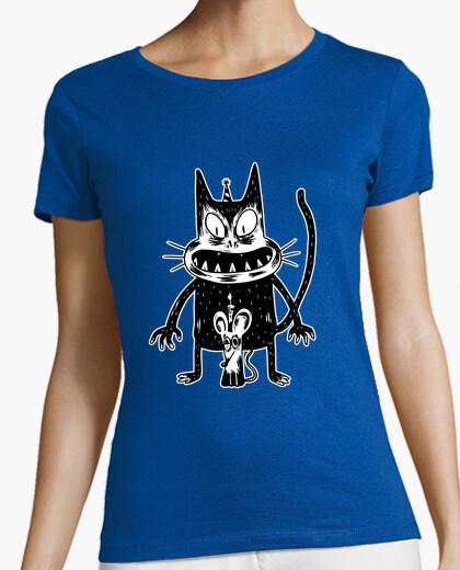 Tee-shirt t-shirt souris et souris effrayant