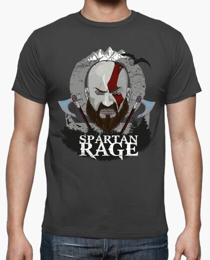 T-shirt spartano rage