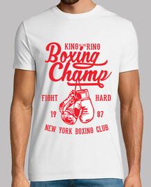 t-shirt sportiva pugilato boxer 1987