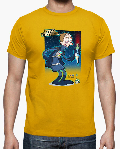 T-shirt star father padre