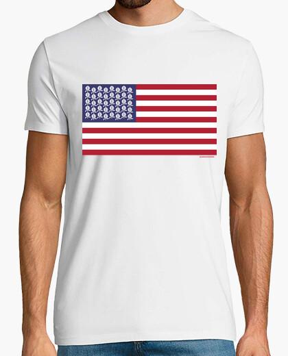 T-shirt stati unito di gr ana da