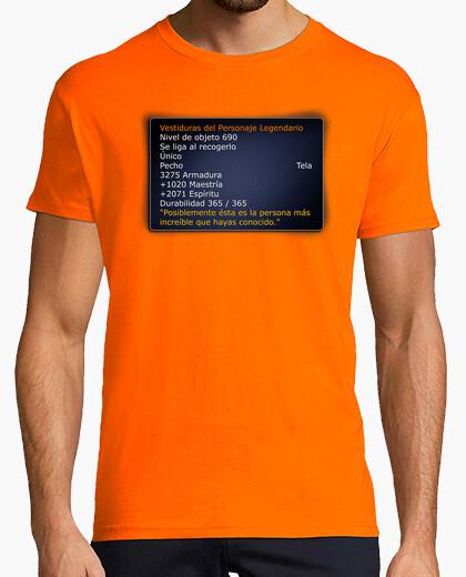 T-shirt stats of legendary world of warcraft