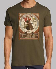 t-shirt steampunk woman