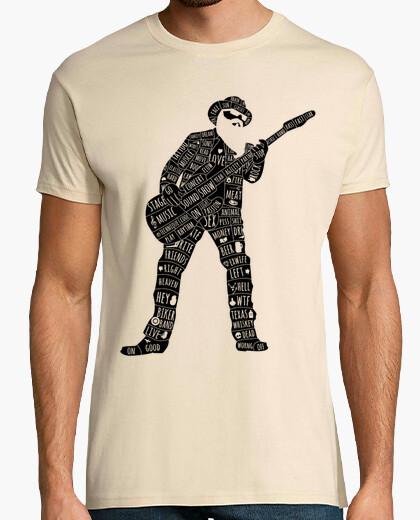 T-shirt stella del rock