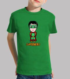 t-shirt supereroi (bambino)