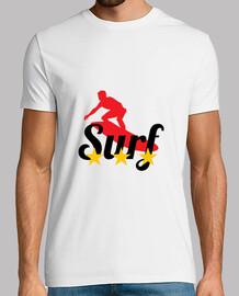 T-shirt Surf - Plage - Soleil