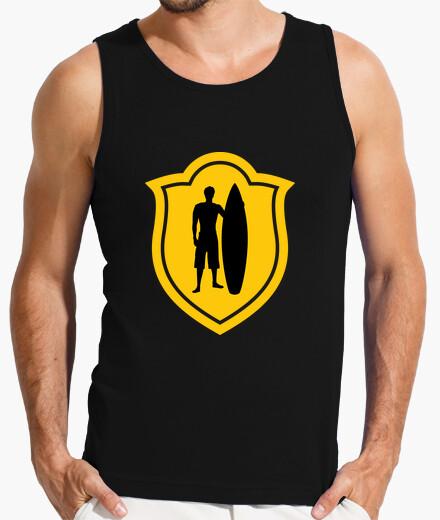 tee shirt t shirt surf homme sans manches noir 1028199. Black Bedroom Furniture Sets. Home Design Ideas