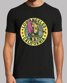 t-shirt surf vintage california vintage