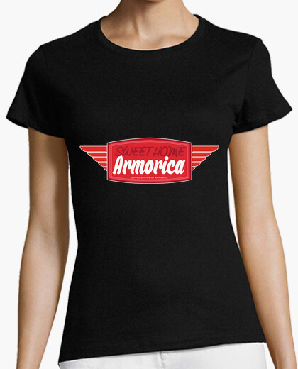 T-shirt sweet home armorica