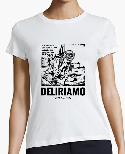 T-shirt Techno Pop Art VInile