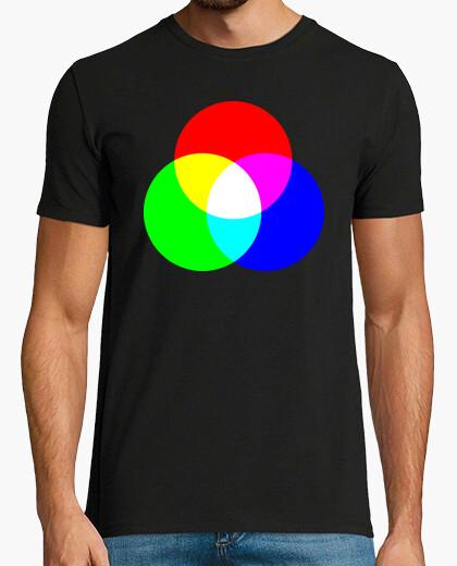 T-shirt tee shirt colori primari