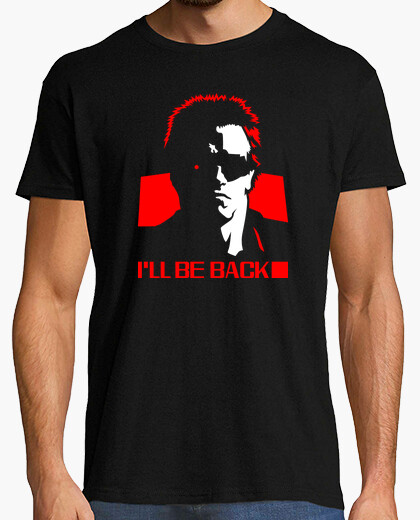 T-shirt Terminator: I'll Be Back