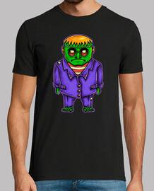 t-shirt terrore del cartoni animati frankenstein