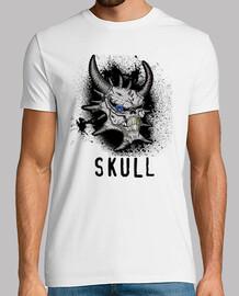 t-shirt teschio