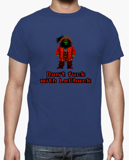 T-shirt The Secret of Monkey Island: Don't fuck with LeChuck