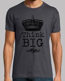 t-shirt think big guy